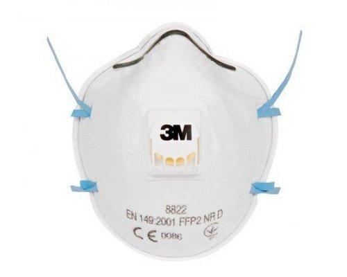 3M Respirator, FFP2, Valved, 8822