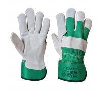 Premium Chrome Rigger Glove  Red