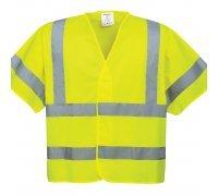Hi-Vis Short Sleeved Vest