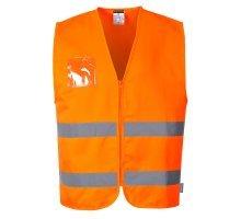 Hi-Vis Polycotton Vest