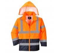 Hi-Vis Classic Contrast Rain Jacket
