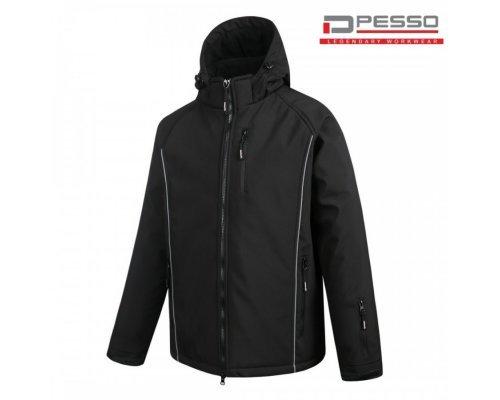 Softshell Winter Jacket Pesso OTAVA, black