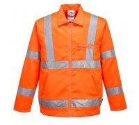 Hi-Vis Poly-cotton Jacket RIS