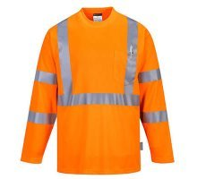 Hi-Vis Long Sleeve Pocket T-Shirt