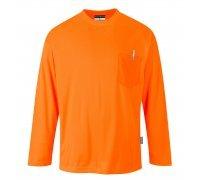 Day-Vis Pocket Long Sleeve T-Shirt
