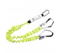 Double Elasticated Lanyard With Shock Absorber