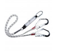 Double Kernmantle Lanyard With Shock Absorber