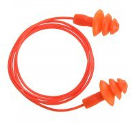 Reusable Corded TPR Ear Plug ( 50 pairs)
