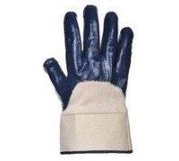Нитриловые перчатки с защитной манжетой